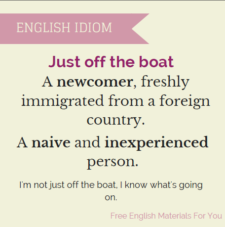 Just_off_the_boat_-_idiom