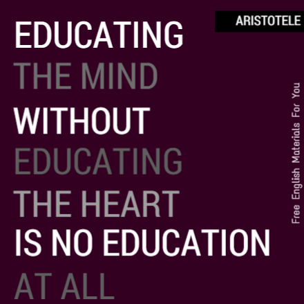 Educational Quotes Free English Materials For You