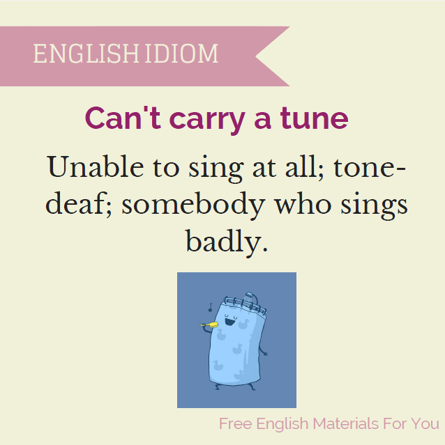 Fun With Idioms Free English Materials For You