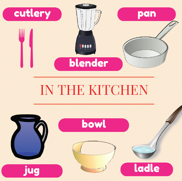 in_the_kitchen_vocabulary