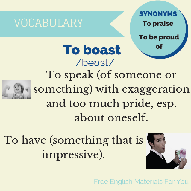 To_boast