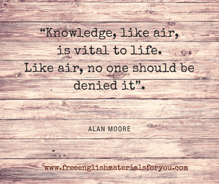 Quote - Alan Moore