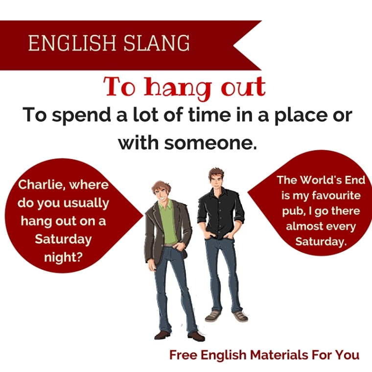 hanging out meaning