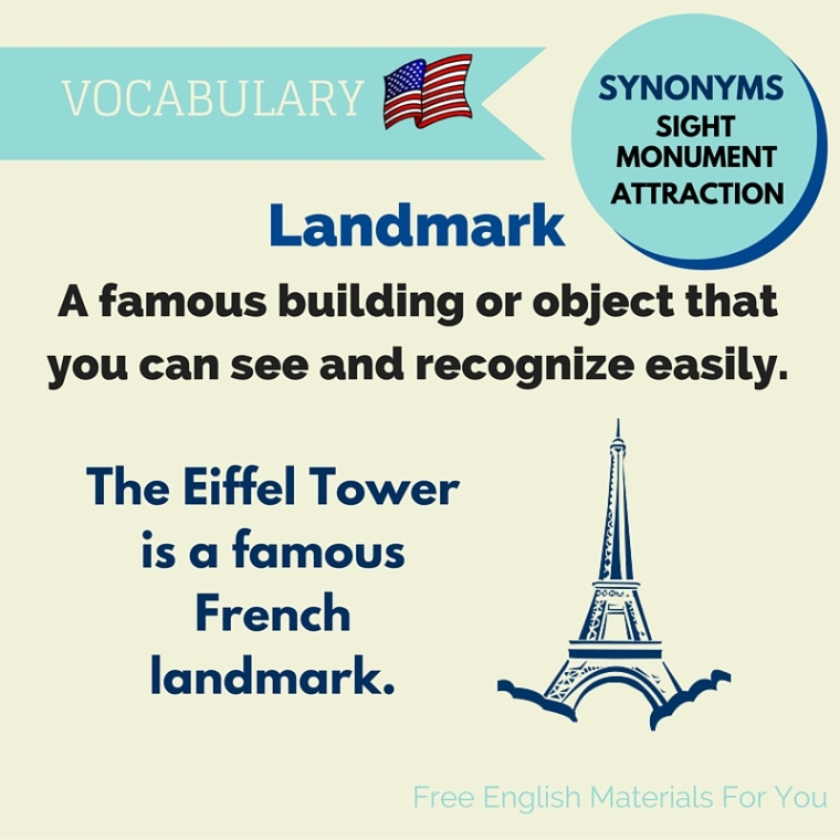 meaning of landmark - English Vocabulary- Free English Materials For You - femfy (1).jpg