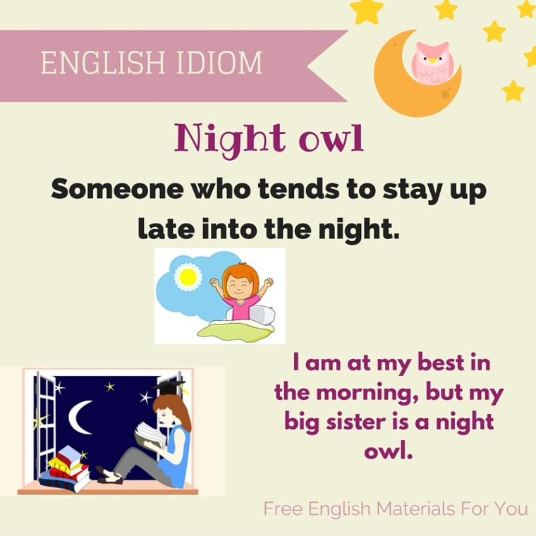 English Idiom Free English Materials For You