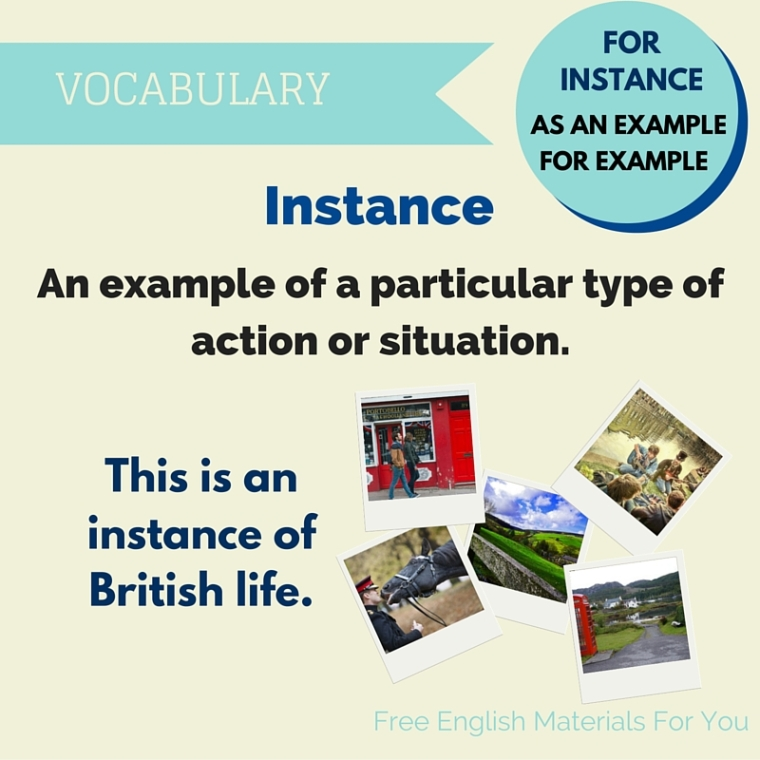 instance meaning - English vocabulary- Free English Materials For You - femfy.jpg