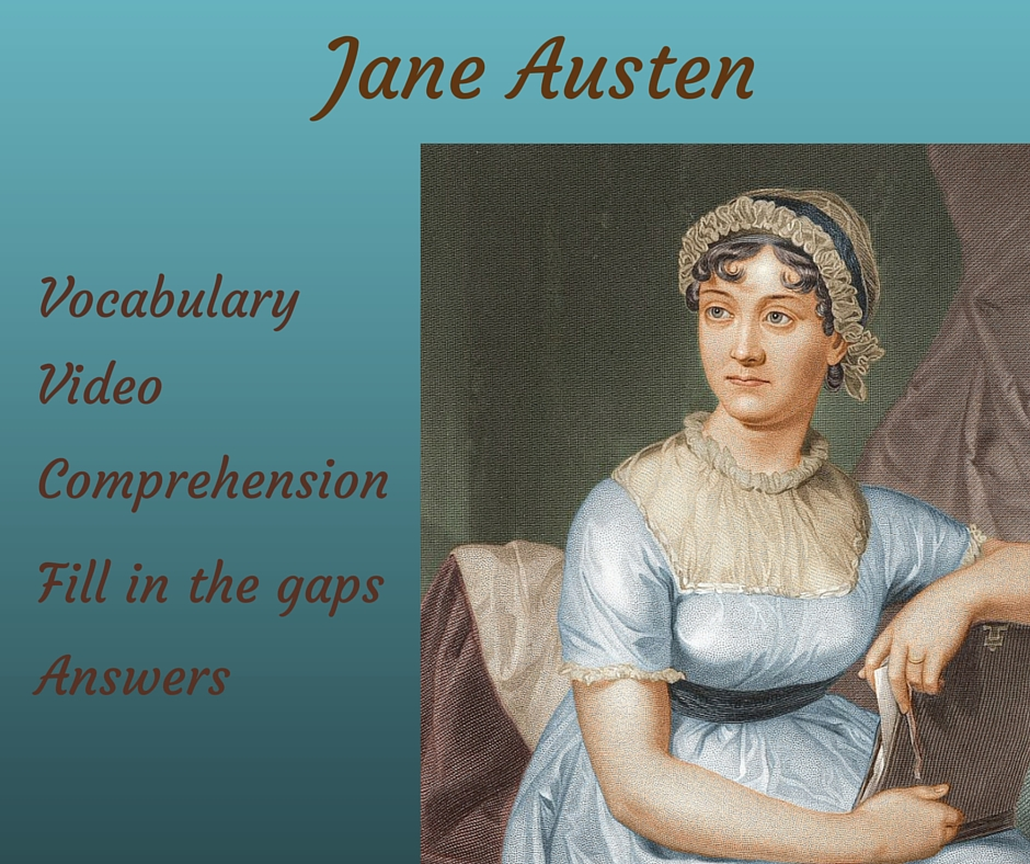 Matrimonio In Jane Austen : Listening activity u2013 jane austen u2013 free english materials for you