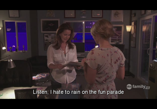 rain on someone's parade meaning English idiom Free English Materials For You.png