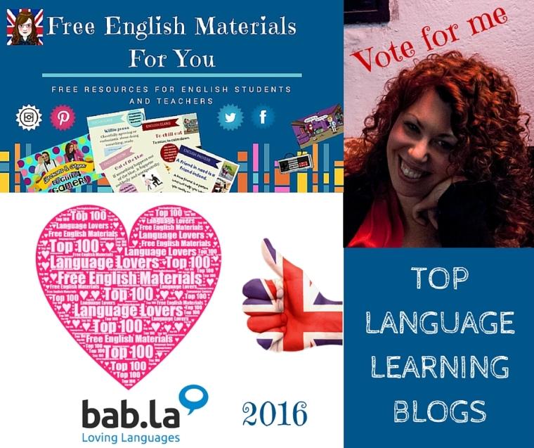 Vote for me Top Language Lovers Blog 2016 Free English Materials bab.la (1).jpg